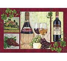 Chianti and Friends Photographic Print