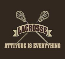 Lacrosse Attitude Is Everything by SportsT-Shirts