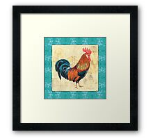 Tiffany Rooster 1 Framed Print