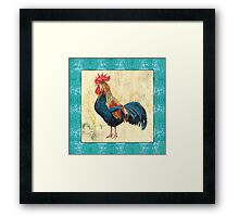 Tiffany Rooster 2 Framed Print