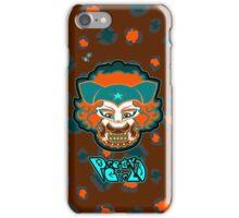 Mizz K Pretty Girls teal n orange iPhone Case/Skin