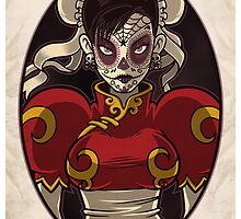 Chun Li Skull Girl by Bamboota