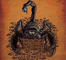 Emperor scorpion by Carl Conway