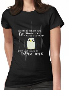 Dark One Womens Fitted T-Shirt