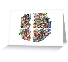 Super Smash Bros. 4 Ever Greeting Card