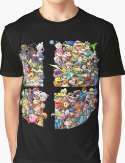 Super Smash Bros. 4 Ever Graphic T-Shirt