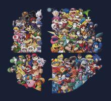Super Smash Bros. 4 Ever One Piece - Long Sleeve