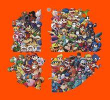 Super Smash Bros. 4 Ever Kids Tee
