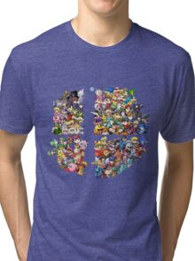 Super Smash Bros. 4 Ever Tri-blend T-Shirt