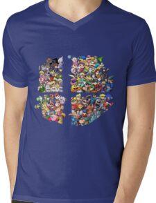Super Smash Bros. 4 Ever Mens V-Neck T-Shirt