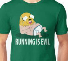 Running Is Evil Unisex T-Shirt