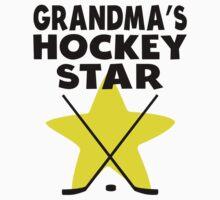 Grandma's Hockey Star Kids Clothes
