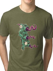 E is for Echidna Tongues Tri-blend T-Shirt