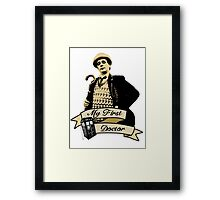 Doctor Who - My first Doctor (Who) seventh 7th Sylvester McCoy Framed Print
