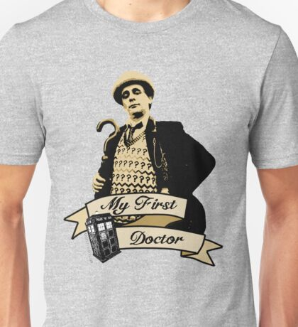 Doctor Who - My first Doctor (Who) seventh 7th Sylvester McCoy Unisex T-Shirt