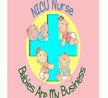 NICU Nurse iPhone Case PInk by gailg1957