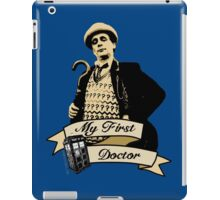 Doctor Who - My first Doctor (Who) seventh 7th Sylvester McCoy iPad Case/Skin