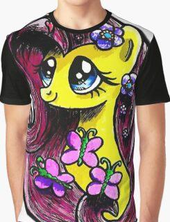 Mlp - Fluttershy Graphic T-Shirt