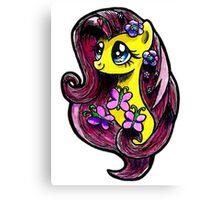 Mlp - Fluttershy Canvas Print