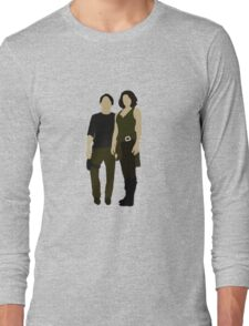 Maggie and Glenn Long Sleeve T-Shirt