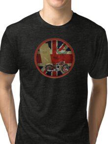 triumph history 1935 Tri-blend T-Shirt