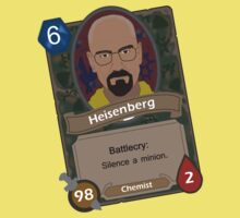Breaking Bad Hearthstone Alternate by CBstudios