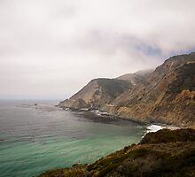 The Pacific Coast Highway at Bixby Bridge by Jimmy Phillips