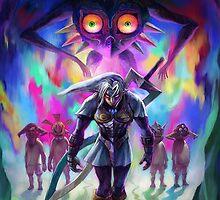The Legend of Zelda Majora's Mask 3D Artwork #2 by estatheesploso