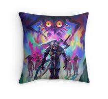 The Legend of Zelda Majora's Mask 3D Artwork #2 Throw Pillow