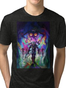 The Legend of Zelda Majora's Mask 3D Artwork #2 Tri-blend T-Shirt