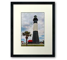 The Tybee Island Light Framed Print