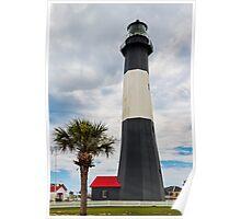The Tybee Island Light Poster
