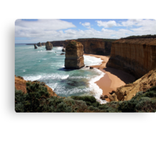 12 Apostles - Don`t go near the edge Canvas Print