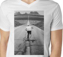 Bombing hills Mens V-Neck T-Shirt