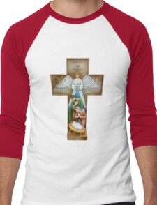 The Crucifix Men's Baseball ¾ T-Shirt