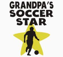 Grandpa's Soccer Star One Piece - Short Sleeve
