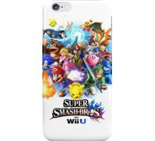 Super Smash Bros. for Wii U [Full Art] iPhone Case/Skin