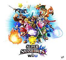 Super Smash Bros. for Wii U [Full Art] Photographic Print