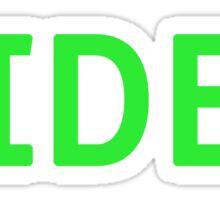 Hideo - Metal Gear Solid Sticker