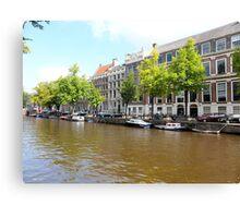 Amsterdam Canal 3 Canvas Print