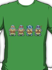Teenage Mutant Squirtle Squad T-Shirt