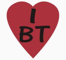 I Love BT - Country Code Bhutan T-Shirt & Sticker by deanworld