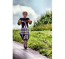 Scooting! Photographic Print