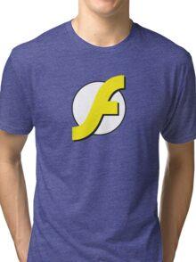 It Runs Like a Flash on DDR4 Tri-blend T-Shirt