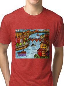 River Scape Tri-blend T-Shirt