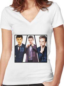 Ten to Twelve Women's Fitted V-Neck T-Shirt