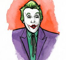 Cesar Romero inspired Joker by jarofcomics