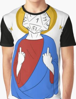 RNGesus loves you Graphic T-Shirt