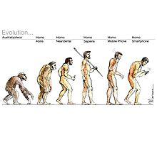 Evolution... Photographic Print