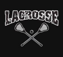 Lacrosse Dark by SportsT-Shirts